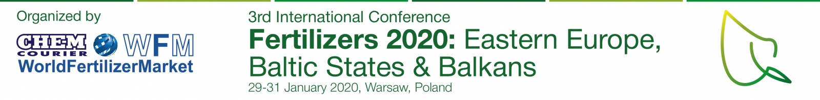Fertilizers 2020: Eastern Europe, Baltic States  and Balkans. Warsaw, Poland