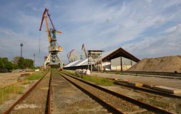 Склад удобрений в порту Усть-Донецкий, Россия